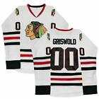 Clark Griswold 00 X Mas Christmas Vacation Movie Hockey Jersey Stitched S 2XL