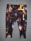 Size XS, M &L NWT Avia Womens Yoga Workout Exercise Stretch Galaxy Cosmic Capris