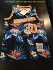 NEW Golden State Warriors Stephen Curry Men's M&N Floral / Hawaiian Print Jersey on eBay