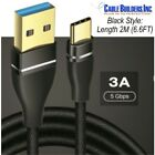USB C CABLE 3.1 Gen 1 for HTC or HUAWEI CELL 3.0 MOBILE PHONE CHARGER SYNC CORD