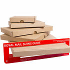 C4 C5 SIZE POSTAL BOX ROYAL MAIL LARGE LETTER POSTAL CARDBOARD MAILING BOX