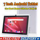 7 Inch Android Tablet 4GB Quad Core Dual Camera Bluetooth Wifi Tablet Xmas gift