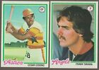 BUY 1, GET 1 FREE - 1978 TOPPS BASEBALL - YOU PICK #601 - #726 - SHARP NMMT $1.0 USD on eBay