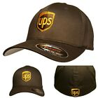 UPS FLEXFIT Style 6277 Embroidered on Front & Back of the Baseball Hat