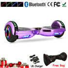 """6.5"""" Self Balance Scooter Electric Scooter Balancing Board Bluetooth+LED Wheel"""