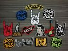 Rock' n ROLL ELVIS ROCK YOU Music Iron on Patch Embroidered Sew on Jean Bag Hat