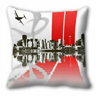City Cushion Cover Sofa Home Décor Throw Pillow Case 12