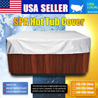 3 Style Large Durable UV Proof Spa Outdoor Bathtub Hot Tub Cover Guard Dust Cap