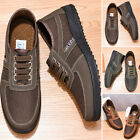 Men Breathable Casual Shoes Fashion Lazy Driving Slip On Mesh Flat Moccasins
