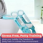 Baby Potty Training Ladder Adjustable  Toilet Seat Loo Trainer System Toddler image