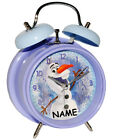"Kids' Alarm Clock - "" Disney the Ice Queen - Frozen/Snowman Olaf "" - for"
