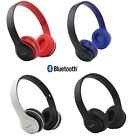 cascos bluetooth auriculares plegables colores inalambrico bater a recargable
