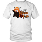 My Patronus Is A Red Panda Harry Porter Parody Funny White T-Shirt Gift For Fans