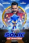 Sonic the Hedgehog (2020) Movie Poster (Multiple Sizes)