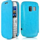 Case Cover Flap Side For Nokia Asha 302 + Protection Film