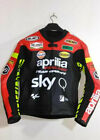 NEW MOTOGP MOTORBIKE RACING COWHIDE LEATHER JACKET MEN'S