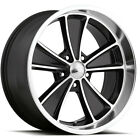 "4-Boyd Coddington BC2 Speedster 17x8 5x4.5"" +0mm Black Wheels Rims 17"" Inch $687.96 USD on eBay"