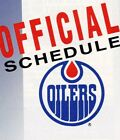 1980's to 2000's NHL Edmonton Oilers Hockey Schedule - U-Pick From List $2.95 CAD on eBay