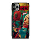 DEADPOOL HARLEY QUINN iPhone 6/6S 7 8 Plus X/XS XR 11 Pro Max Case Phone Cover