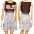 SEA SHELL SKATER DRESS  SIZES 8 to 10 ALTERNATIVE EMO PUNK Made in the UK