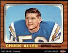 1966 Topps #118 Chuck Allen Chargers Washington 3 - VG $3.75 USD on eBay