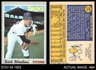 1970 Topps #479 Dick Woodson Twins 6 - EX/MT