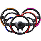 38cm Universal Dragon Car Steering Wheel Cover Reflective Pu Leather Business