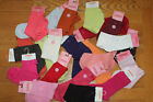 Gymboree GIRLS Basic Bow SOCKS Orange PINK Green CORAL Red BURGUNDY 5 6 7 yrs