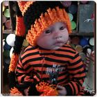 CROCHET BABY HARLEY DAVIDSON LONG TAIL ELF HAT ~ HALLOWEEN LONGTAIL ELF HAT $18.0 USD on eBay