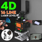 Green Laser Level 360°3D 12 Lines Laser Self Leveling LCD Cross Measure Tool US