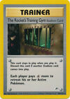 The Rocket's Training Gym Trainer Rare Pokemon Card Gym Heroes 104/132