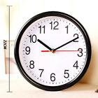 Kitchen Quartz Large Silent Analogue Round Wall Fresh Clock Home Bedroom #T4N