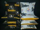 Set of 8 Pittsburgh Steelers Football Cornhole Bags ***FREE SHIPPING*** $30.99 USD on eBay