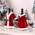 Hot Sell Bottle Decoration Red Wine Bag Adornos Christmas Tree Bottle Covers Cf