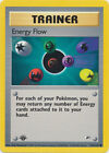 Energy Flow Trainer Common Pokemon Card 1st Edition Gym Heroes 122/132