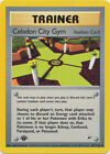 Celadon City Gym Trainer Uncommon Pokemon Card 1st Edition Gym Heroes 107/132