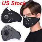 Reusable PM2.5 Mouth Mask with Activated Carbon Filter Washable Face Masks US