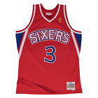 Allen Iverson Philadelphia 76ers Hardwood Throwback NBA Swingman Jersey on eBay