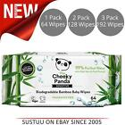 The Cheeky Panda Biodegradable Bamboo Fibre Vegan Fragrance Free Baby Wipes