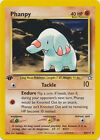 Phanpy Uncommon Pokemon Card 1st Edition Neo Genesis 43/111