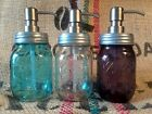 Soap  Lotion Dispenser STAINLESS STEEL Mason Jar Gift USA Quality