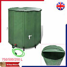 Collapsible Rain Water Tank Storage Storing with Garden Hose Filter 750/500/250L
