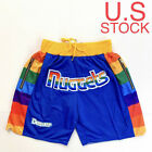 Just Don Summer League Denver Nuggets Blue Iverson Men's Team Basketball Shorts