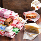 Wrapping Wax Paper Disposable Food Packaging Paper 50Pcs Greaseproof Paper Soap