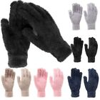 Fuzzy Soft Womens Fuzzy Winter Touchscreen Gloves
