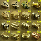 Solid Brass / Copper Lanyard Bead EDC Knife Tool Paracord Beads / Lanyard Beads