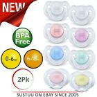 Philips Avent Translucent Silicone Soother│Baby Dummy│Kid's Pacifier│0-6m│6-18m