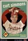 1959 Topps #382 Curt Simmons Phillies 6 - EX/MT