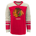 Chicago Blackhawks Youth Applique Long Sleeve T-Shirt - Red $14.98 USD on eBay