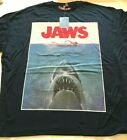 official Jaws Aged Retro 70s - 80s T shirt